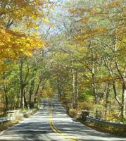 Beautiful fall day on Clinton Road..